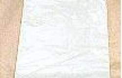 Tablier jetable BD Liasse Hauteur 1M20