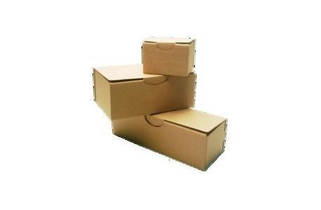 Boîte postale découpée DF-PC 100 x 80 x 60 Brune