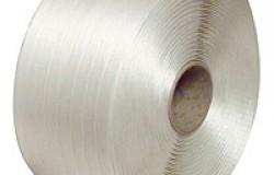 Feuillard Textile Tissé 13mm x 1100m Blanc résistance 380kg