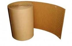 Rouleau carton ondulé 1,20m x 50ml 375 gr/m2