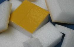 Plots Mousse Adhésifs 25 mm 100 x 100 mm