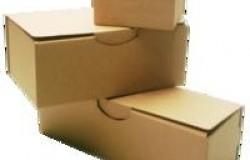 Boîte postale découpée DF-PC 330 x 250 x 80 Brune