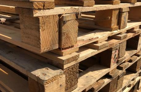 Palette bois légère 120x80 cm - occasion